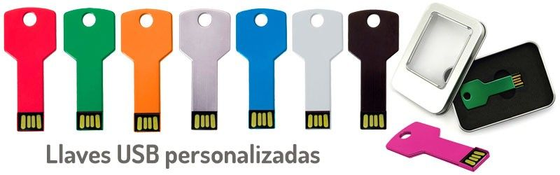 Pendrives forma llave